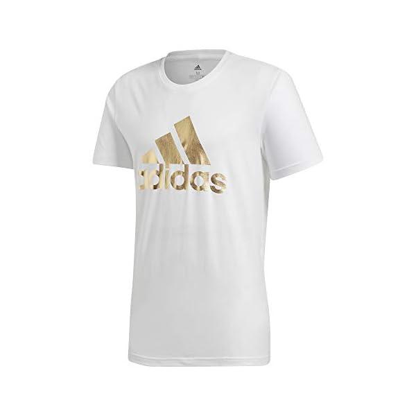 adidas 8-Bit Foil Grfx, T-Shirt Uomo