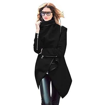 Amazon.com: ZXCP Women's Fashion Asymmetric Hem Split Wrap