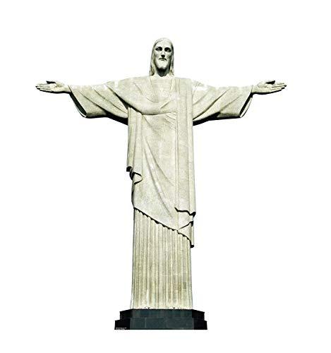 Advanced Graphics Christ The Redeemer Statue in Brazil Life Size Cardboard Cutout Standup Christ Redeemer Statue Rio