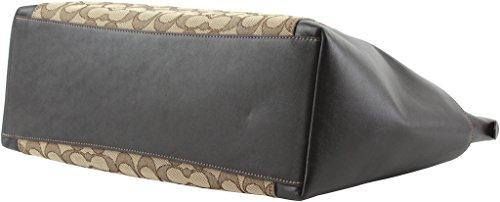 Coach-Ava-II-Signature-Leather-Jacquard-Tote-Shoulder-Bag-54797