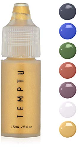 Yellow Airbrush Makeup - Temptu Adjuster Yellow, 0.25 Fl Oz