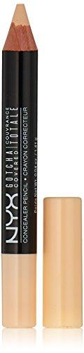 NYX Professional Makeup Gotcha Covered Concealer Pencil, No.01 Alabaster, 0.04 Ounce
