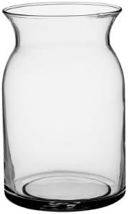 Syndicate Sales 4048-06-09 8 Milk Jug Vase, Crystal