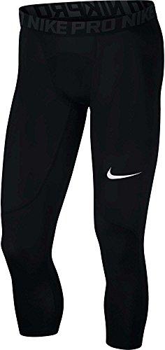 Nike Men's Pro Tights Black/Anthracite/White Size Medium