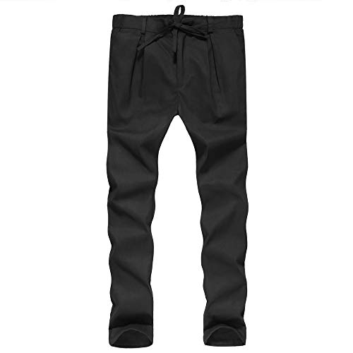 POHOK Clearance Men's Sports Pants Pure Color Pocket Overalls Casual Pocket Sport Work Casual -