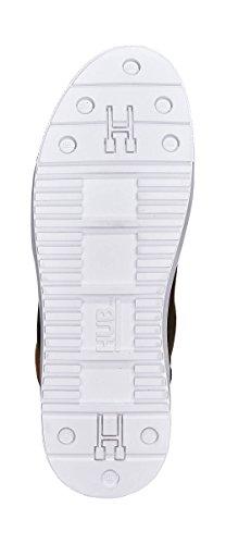HUB Millennium Leather Shetland White Brown ZJVBP