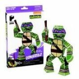 Paper Punk Teenage Mutant Ninja Turtle TMNT Donatello Pizza Build Your Own Paper Action Figure Toy Nickelodeon