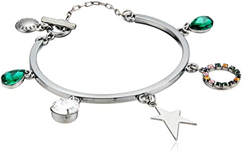 BCBG Generation Women's Star Multi Charm Toggle Bracelet, One ()