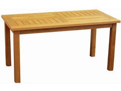 Atlanta Teak Furniture   Teak Rectangular Coffee Table   Gra.