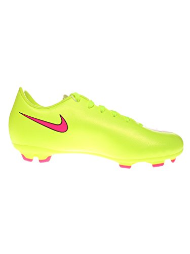 Nike Jr. Mercurial Victory V FG, Scarpa da Calcetto Infantile TAXI/TEAM RED/TEAM RED