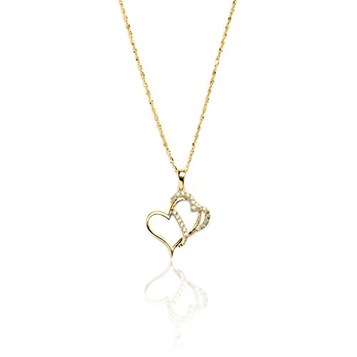 18-10k-yellow-gold-double-heart-cz-pendant-necklace-with-singapore-chain-for-women-and-girls