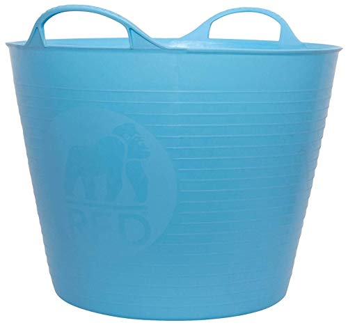 (Tubtrugs SP26SKBL Flexible Sky Blue Medium 26 Liter/6.9 Gallon Capacity)