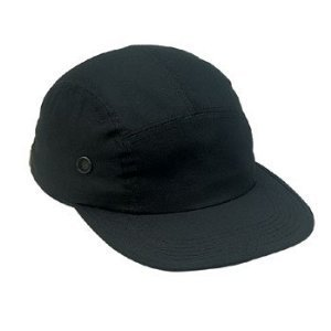 Black Military Street Cap
