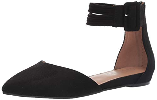 - Aerosoles Women's Martha Stewart Town CAR Ballet Flat, Black Fabric, 5.5 M US