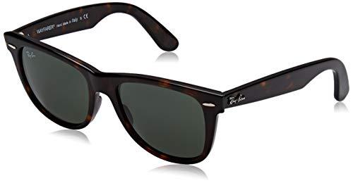 Ray-Ban Sunglasses - RB2140 Wayfarer / Frame: Tortoise Lens: Green (54mm) (Ray Ban Tortoise Green)