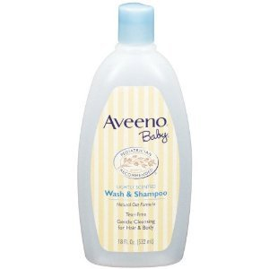 - Aveeno Baby Wash and Shampoo - 18 Oz 4/pack