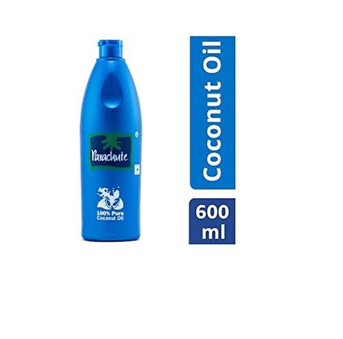 Parachute 100% Pure Coconut Hair Oil Bottle, 600ml product image
