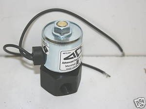 "Advanced Fuel Components Propane 12 Volt Fuelock, Lock Off Valve 180 Degree 1/4"" Female NPT"