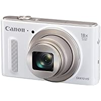 Canon PowerShot SX610 HS - Wi-Fi Enabled (White)