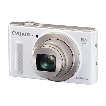 Canon PowerShot SX610 HS - Wi-Fi Enabled (White)