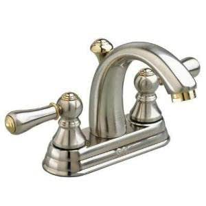 American Standard Williamsburg Lavatory Faucet Satin Bathroom Sink Faucets