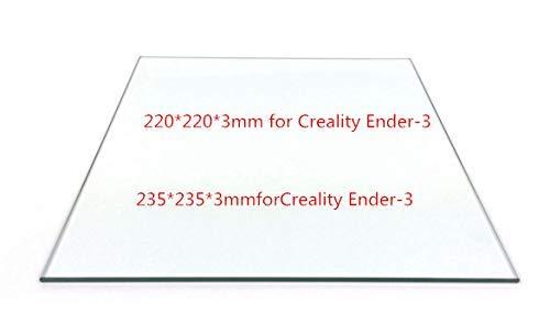 AiCheaX – Cama de vidrio borosilicato de 220/235 mm de grosor de 3 ...