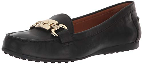 Kate Spade New York Women's Carson Loafer,Black Soft Calf,5 M US