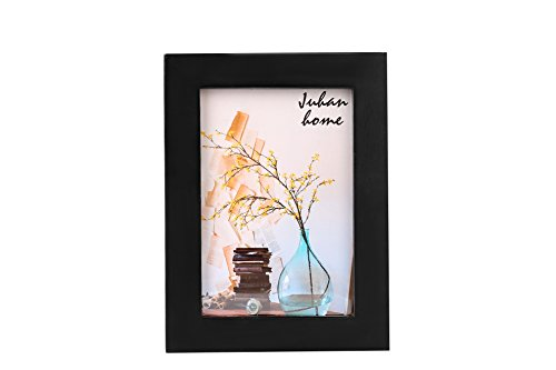 WOOD MEETS COLOR Wall Picture Frames, Classic Home Decor, For 3.3x5 Inch Photo, Set of 1, Black - Antique 3 X 5 Picture Frames