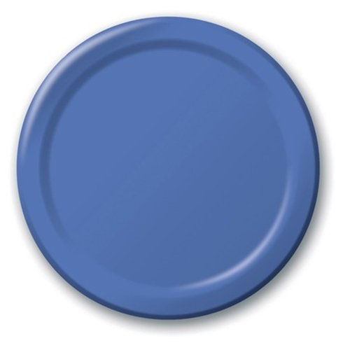 creative-converting-value-pack-paper-luncheon-plates-true-blue-75-count