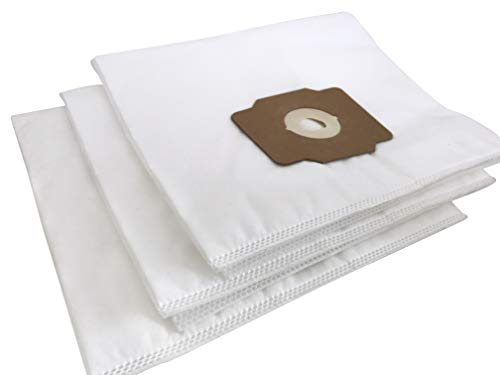 Central Vacuum Bags - Premium HEPA Non-Woven Cloth Central Vac Bags Compatible Replacement for Beam, Electrolux, Eureka, Kenmore, Husky, Mastercraft, White Westinghouse, Nutone, Broan and Other Brands