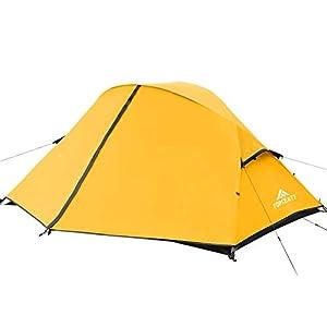 Forceatt Tente 2 et 3 Personnes en 4 Saisons | Idéal pour Le Camping, La Randonnée | Portes Doubles,Imperméable, Coupe…