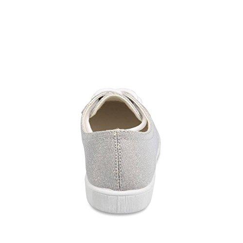 MERRY SCOTT ,  Sneaker donna argento METALLISE
