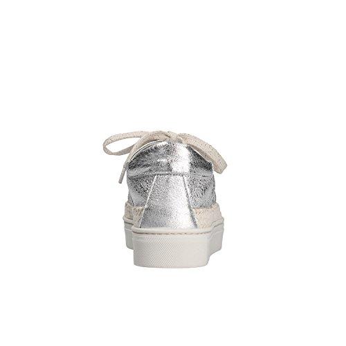 Donna Alto 39 Scarpe Fondo FLEXX D1029 Silver 02 Sneakers The RaFCvwqYn