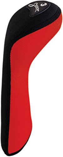 (Stealth Club Covers 39040 Fairway Wood 3 Golf Club Head Cover, Red/Black)