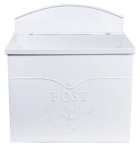 (NACH mb-6947 Chelsea Mailbox, White)