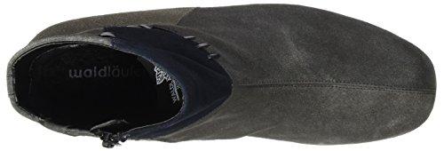 Ranger Ladies Hermela Boots Grey (3xvelour Memphis Asfalto Deepblue Pel)