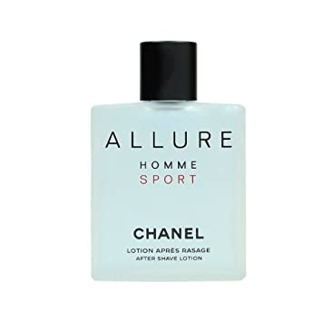 c84f74b39ef0 Amazon.com : Allure Sport by Chanel for Men, Aftershave Lotion, 3.4 Ounce :  Beauty