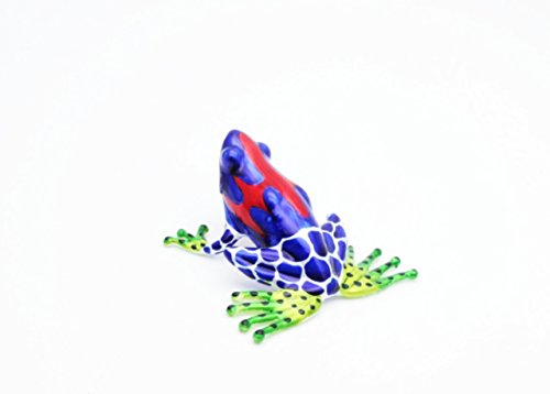 Lampwork GLASS Iron Spider Frog Figuarts (Halloween Paper Plate Spider Crafts)