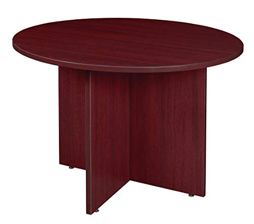 (Regency LCTR42-MH Conference Table Legacy Round 42-inch Mahogany)