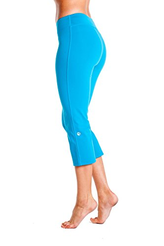 Knicker Isis Flood (Small, Turquoise) - Capris Womens Isis