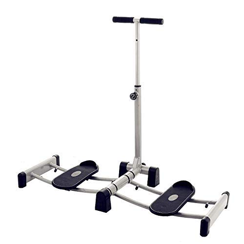 Popsport Folding Leg Machine Stretch Training Leg Stretcher Machine Heavy Duty Thigh Stretching Gym Gear Fitness Equipment for Home Gym
