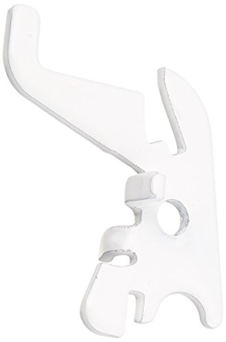 Wall Control 10-HS-001 W Pegboard Standard Slotted Hook Pack Slotted Metal Pegboard Hooks for Wall Control Pegboard Only, White