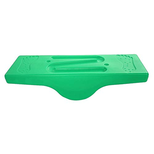 Alomejor Balance Board Toy Wobble Training Tool Teeter Popper for Standing Desk Physical Therapy Balancing (Green) ()