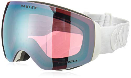 Oakley Flight Deck XM Snow Goggles, Factory Pilot Whiteout, Prizm Sapphire Iridium, ()