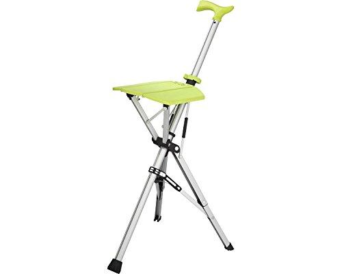 Ta-Da Chair(ターダチェア) ライムグリーン 532-391 (アロン化成) (杖ステッキ) B01M4MW8MZ