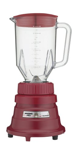 (Waring WPB80R Professional Bar Blender with 48-Ounce Jar, Chili Red)