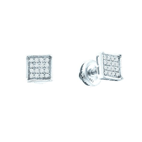 Tw Diamond Cluster Earrings - 4
