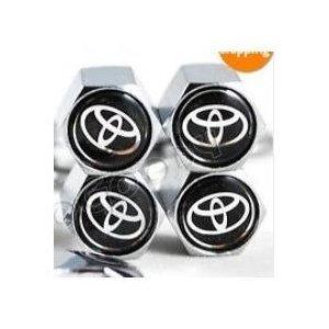 Toyota anti-theft Tire Stem Valve Caps ()