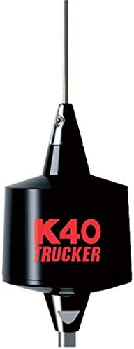 [해외]K40 Trucker Tunable CB Antenna - Black Base With 49 Inch Stainless Steel Whip / K40 Trucker Tunable CB Antenna - Black Base With 49 Inch Stainless Steel Whip