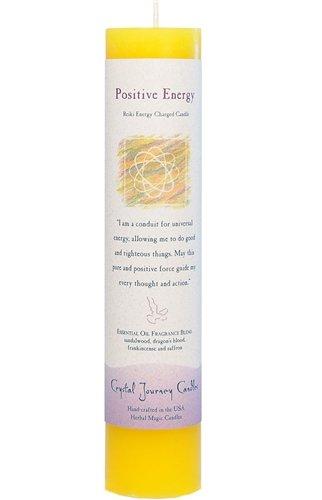 Crystal Journey, Candle Pillar Magic Positive